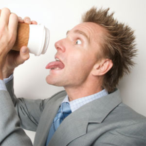 Is caffeine more like nicotine or alcohol? (Image via iNform Health and Fitness)