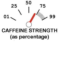 B70 coffee with 30% less caffeine