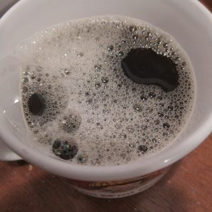 Seven sips of coffee maria bad coffee. Image: Bad Coffee by Rich Moore via Flickr